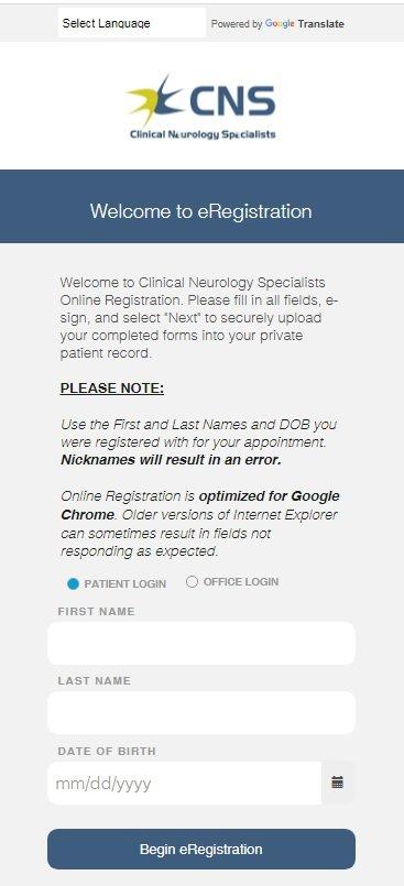 eReg Link - Example Verification 1